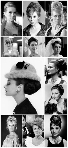 Hairdos of the 60ies