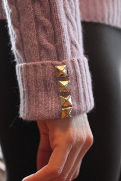 #DIY #STUDS #SWEATER