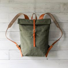Rural Kind | 1952 Army Tent Roll-top Rucksack