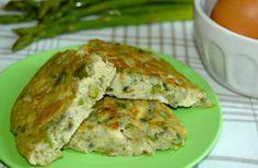 Mashed Potato and Asparagus Frittata