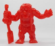 Monster In My Pocket - Series 1 - 42 Charon - Red My Pocket, Classic Toys, Lion Sculpture, Red