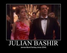 Our man Bashir, Watch Star Trek, Star Trek Show, Star Wars, United Federation Of Planets, Nerd Love, Sci Fi Fantasy, Historical Society, Role Models, Movies And Tv Shows