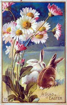 postcard.quenalbertini: Vintage Easter Card