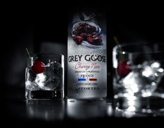 Grey Goose Rolls Out Cherry Noir Flavored Vodka Grey Goose Drinks, Grey Goose Vodka, Cocktails, Alcoholic Drinks, Party Drinks, Vodka Drinks, French Vodka, Best Tasting Vodka, Cherry Vodka