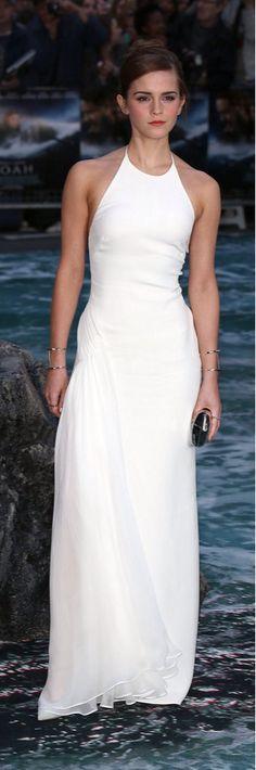 Oscar de la Renta ball gown, Emma Watson