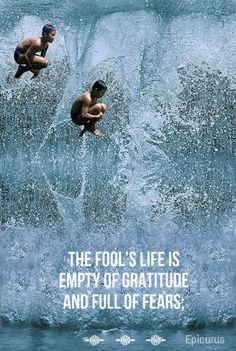 The fool's life is e