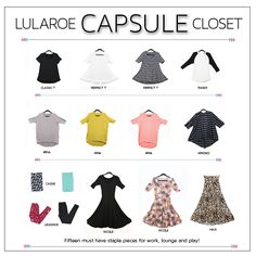 "McThrifter: Preview ""LuLaRoe on a Budget- Capsule Closet Style- Maximizing your bang for your buck"""