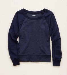 Aerie Dolman Sweatshirt. Cozy up, cuties! #Aerie