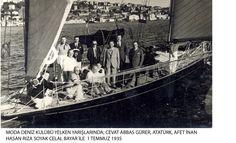 Gazi Mustafa Kemal ATATÜRK 1935 Moda deniz Kulübü Yarışları
