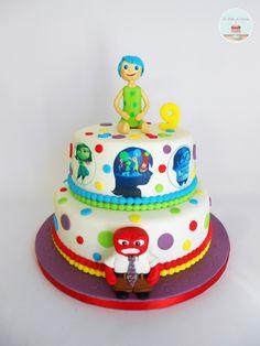 Inside out Cake / Bolo Divertidamente