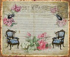Decoupage Vintage, Art Background, Rose Design, Antique Art, Mini Albums, Cute Art, Scrapbook Pages, Digital Scrapbooking, Embellishments