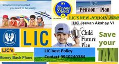 How to Select Best/Affordable Lic Life Insurance | lic of india www.licindiachennai.com  the best life insurance policies can be confusing. Since each person's situation is different, careful research will help in making the right decision