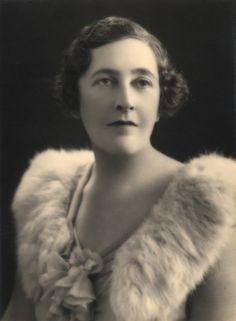 A young Agatha Christie