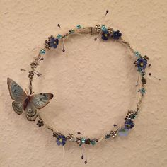 Veronikas Kränzchen Beaded Necklace, Jewelry, Feathers, Beaded Collar, Jewlery, Bijoux, Jewerly, Beaded Necklaces, Pearl Necklace