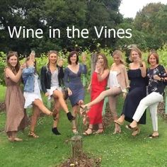 There are times when you just need to get away and have some social time with your girlfriends, no special occasion just another day ending in y. These lovely young ladies had that idea in mind and enjoyed some wine in the vines at one of the locations on a Cork 'n Fork Tour in the Gold Coast Hinterland. http://corknforktours.com #corknforktours #thisisqueensland