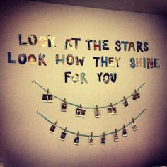 look at the stars..