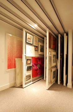 La Maison Boheme: Art Storage Ideas  Dream art storage