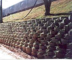 como fazer muro de arrimo com blocos de concreto - Pesquisa Google
