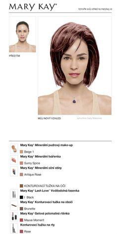 Vyzkoušela jsem ZDARMA svoji proměnu v Mary Kay® Virtuálním líčení. Vyzkoušej i ty tu svoji a sdílej ji s přáteli!