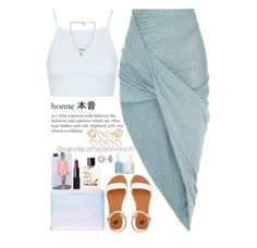 A fashion look from May 2015 featuring rib crop top, calf length skirts and white flat shoes. Browse and shop related looks. Dope Outfits, Skirt Outfits, Casual Outfits, Fashion Outfits, Womens Fashion, Ladies Fashion, Fashion Killa, Look Fashion, Looks Style