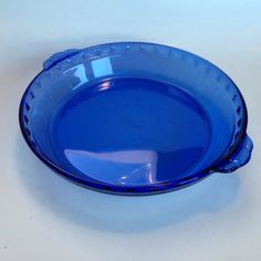 Vintage 1 x Pyrex 1 x Anchor Hocking Cobalt Blue by Beautalicious