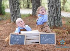 """""""Brother for sale"""" Twin photo ideas, photography, brothers photo, spring photo ideas, easter photo ideas, children photo, kid photo ideas, country boys, country ideas, check out more at FB Pure Southern Photos  Copyright to Pure Southern Photos, Knoxville, TN photography, Knoxville, tn Photographer"""