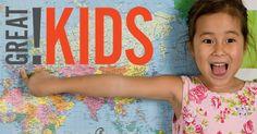 Free printable Preschool Worksheets, word lists and activities. | GreatKids