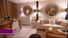Khedidja souhaitait avoir un salon plus moderne et plus chic.