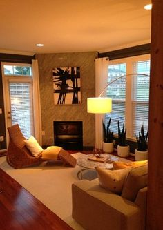 Midcentury Living Room Design Ideas, Pictures, Remodel and Decor