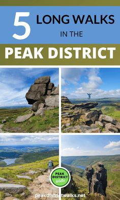 Peak District - Best Long Hikes- Want to do some tough challenges and long walks in the Peak District. Here are 5 great long walks you can do, include map, GPX file and useful information about the walks. Walks from Edale, Crowden, Hope, Ladybower Reservoir | Long walks in Peak District #peakdistrict Peak District England, Pembrokeshire Coast, Walking Routes, Cairngorms, Adventure Activities, Best Hikes, Derbyshire, Lake District, Cool Places To Visit