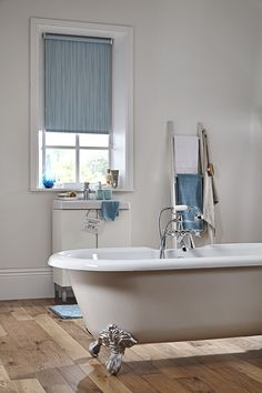 Ahh… the bathroom – practical, pleasing and the perfect setting for cleverly crafted blinds. Bathroom blinds need to be able to withstand high levels of moisture and humidity and at Blinds Boutique you'll find our bathroom blinds are not only practical – they look lovely too! #bathroomblinds #blinds #interiordesign