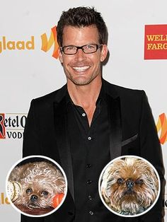 """Mark Deklin never considered himself a small dog person – until he brought home two Brussels griffons named Oscar and Zoe.    """"They have big dog hearts. They're not little hide-in-the-purse-and-be-fluffy dogs,"""" the GCB star tells PEOPLE of the hypoallergenic pups that he adopted with his wife a few years ago. """"They have big personalities – really big personalities. Too big sometimes."""