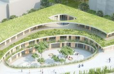 mikou design studio: bobigny school complex, france
