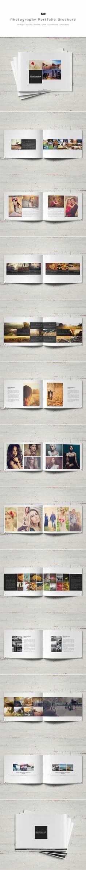 Photography Portfolio Brochure by ShapShapy, via Behance