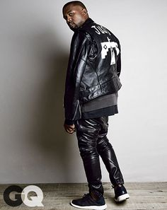Kanye West in the adidas Pure Boost - GQ Magazine, August 2014 #kanyewest #adidas