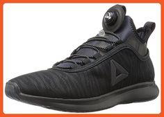 Reebok Women's Pump Plus Flame Running Shoe, Black, 10 M US - Athletic shoes for women (*Amazon Partner-Link)