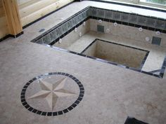 Great tile work on this DIY hot tub built by Custom Built Spas customer Brian J. See how you could one of your own. Visit: www.custombuiltspas.com