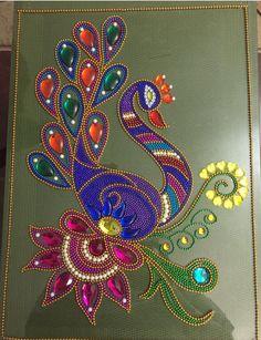 Dot Art Painting, Mandala Painting, Acrylic Rangoli, Diy Diwali Decorations, Diwali Craft, Tapestry Kits, Margarita, Peacock Art, Madhubani Art