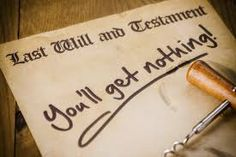 if your parent dies without a will, helpful hints here, and be quick!