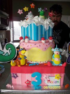 Amazing cake at a Dora Party #doratheexplorer #cake