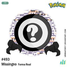 Missingno forma real by on DeviantArt Pokemon Red Blue, Wolf Girl, Red And Blue, Digital, Artist, Shapes, Artists