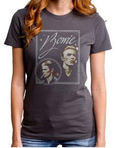 David Bowie Bowie Vision Womens T-Shirt