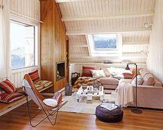 Un'accogliente casa di montagna - Home style blog   casa, arredamento, design #getinspired #mansarda