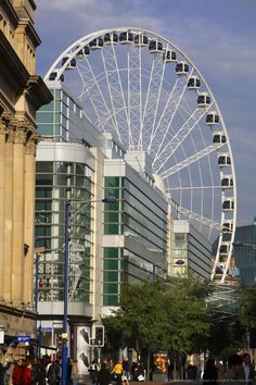 The Wheel of Manchester, Manchester, England.