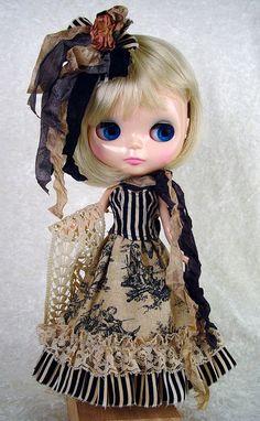 Blythe Blythe Boho Blythe Bohemian Blythe by TheDollsDresser, $69.00