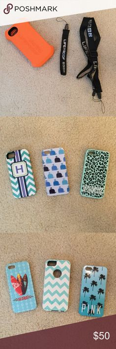 10 IPHONE 5S CASES Being sold as a pack; not individually Accessories Phone Cases