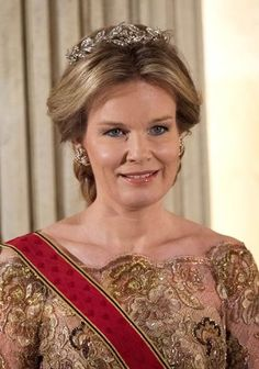 3/8/2016 King Philippe and Queen Mathilde hosted a dinner in honor of President of Germany