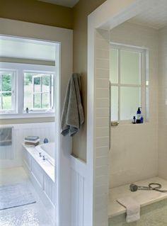 Farmhouse Reinterpreted - contemporary - bathroom - burlington - Smith & Vansant Architects PC