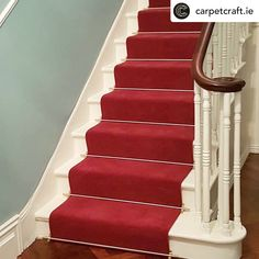 Carpet Stairs, Carpet Flooring, Raspberry Fool, Gray Island, Willow Green, Polished Pebble, Carpet Installation, Painted Stairs, Blooming Rose