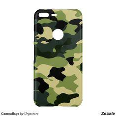 Camouflage Uncommon Google Pixel XL Case Google Pixel Xl, Minimal Design, Business Supplies, Printing Process, Camouflage, Art Pieces, Phone Cases, Pattern, Prints